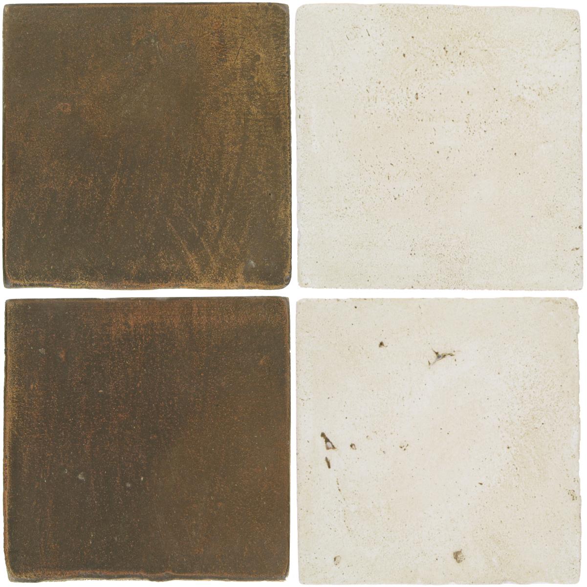 Pedralbes Antique Terracotta  2 Color Combinations  OHS-PSVN Verona Brown + VTG-PGAW Antique White