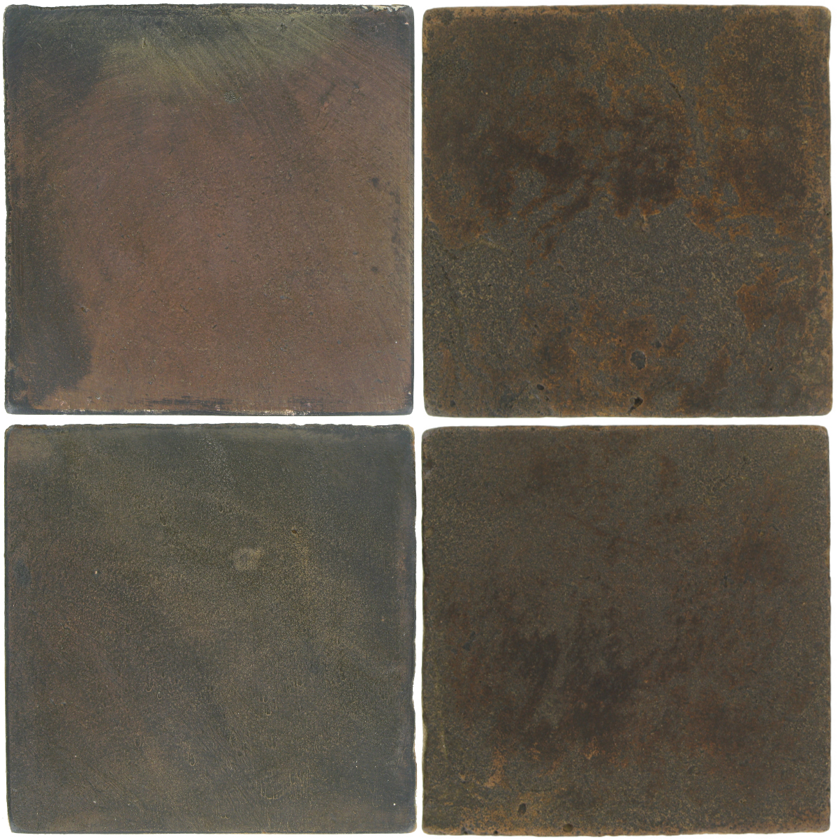 Pedralbes Antique Terracotta  2 Color Combinations  OHS-PSTG Terra Grey + VTG-PSCO Cologne Brown