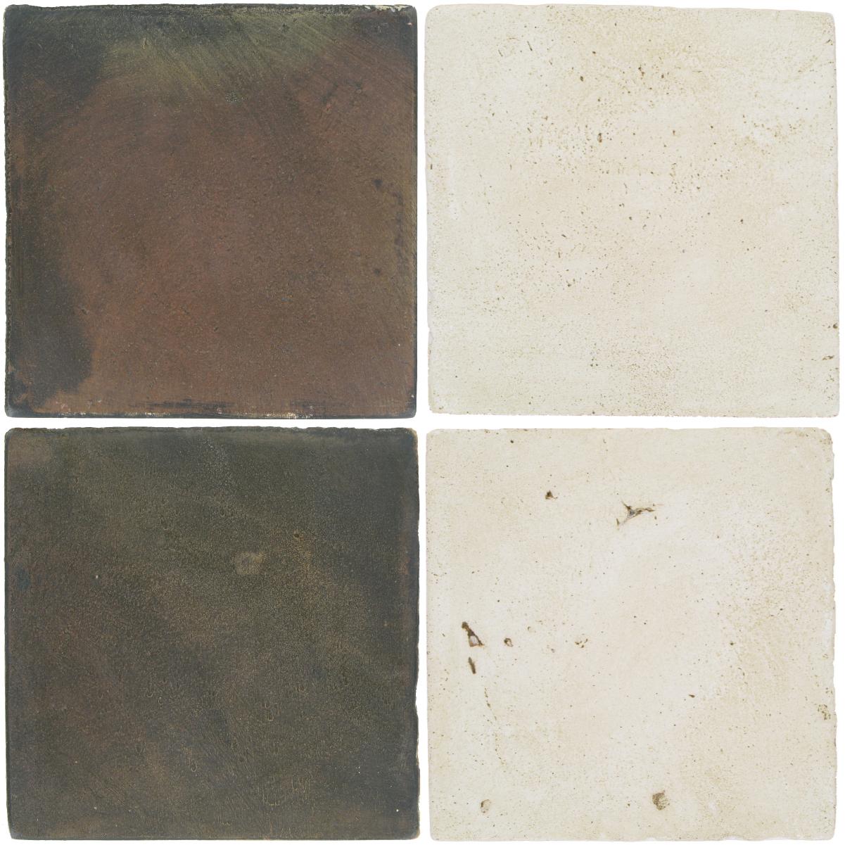 Pedralbes Antique Terracotta  2 Color Combinations  OHS-PSTG Terra Grey + VTG-PGAW Antique White