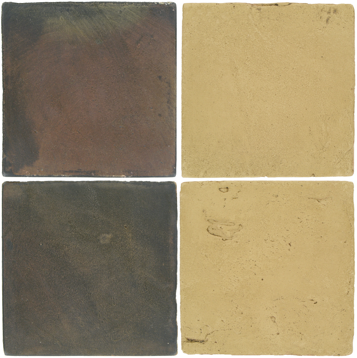 Pedralbes Antique Terracotta  2 Color Combinations  OHS-PSTG Terra Grey + VTG-PGGW Golden W.