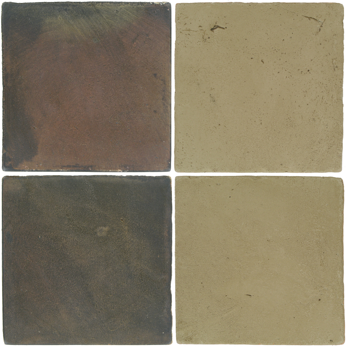 Pedralbes Antique Terracotta  2 Color Combinations  OHS-PSTG Terra Grey + VTG-PGDW Dirty W.