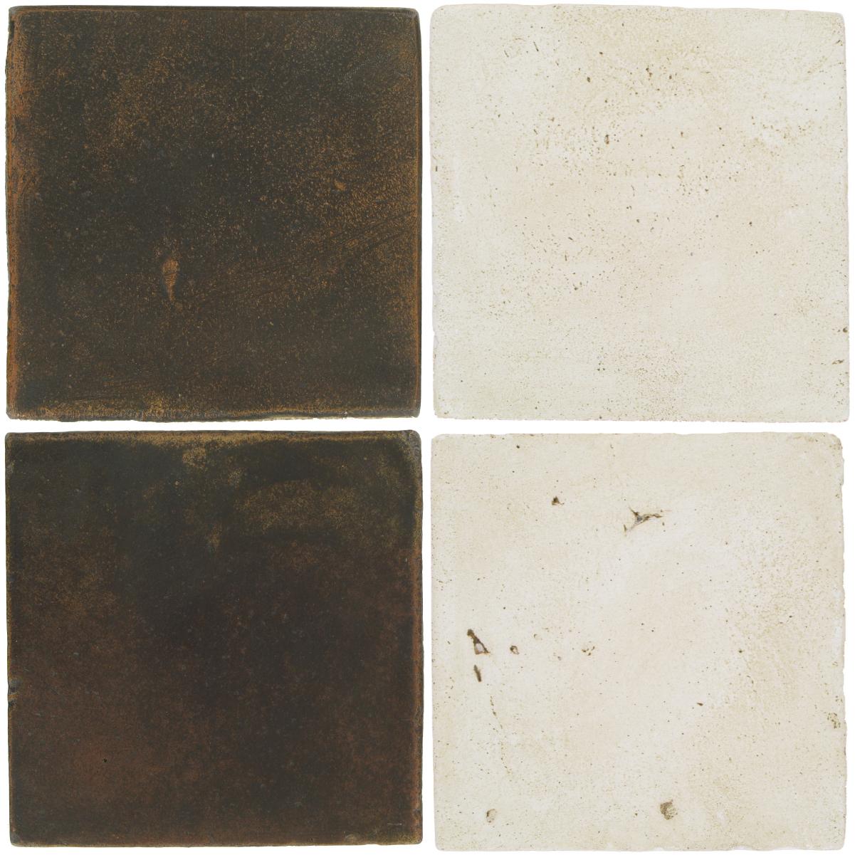 Pedralbes Antique Terracotta  2 Color Combinations  OHS-PSCO Cologne Brown + VTG-PGAW Antique White