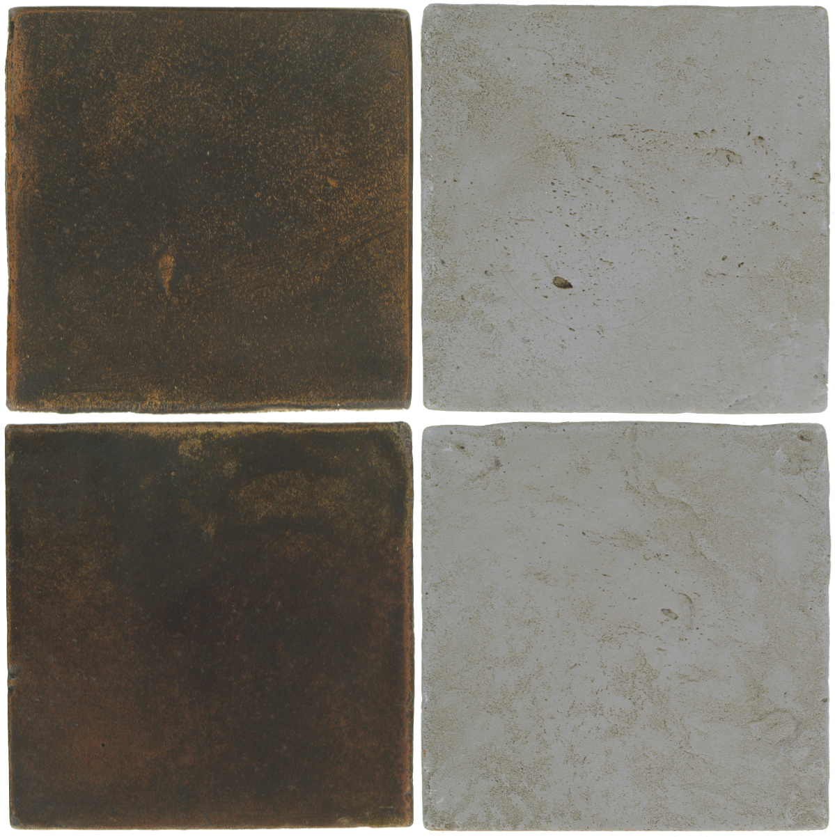 Pedralbes Antique Terracotta  2 Color Combinations  OHS-PSCO Cologne Brown + VTG-PGOG Oyster Grey