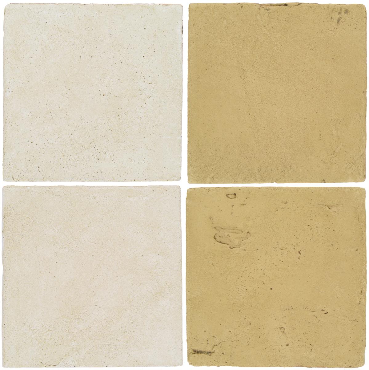 Pedralbes Antique Terracotta  2 Color Combinations  OHS-PGAW Antique White + VTG-PGGW Golden W.