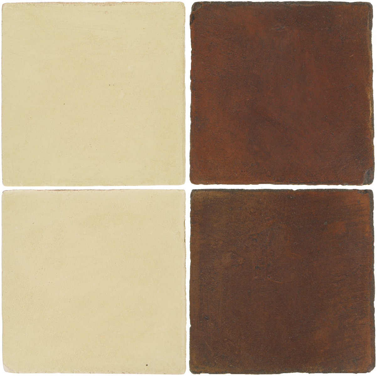 Pedralbes Antique Terracotta  2 Color Combinations  OHS-PGPW Pergamino White + OHS-PSOW Old World