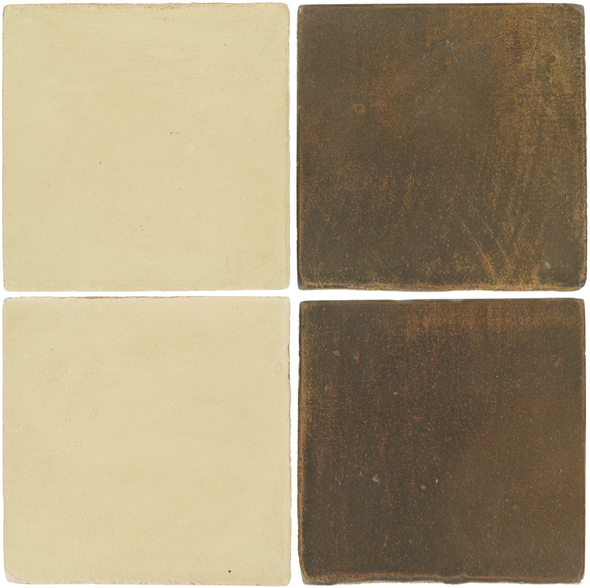 Pedralbes Antique Terracotta  2 Color Combinations  OHS-PGPW Pergamino White + OHS-PSVN Verona Brown