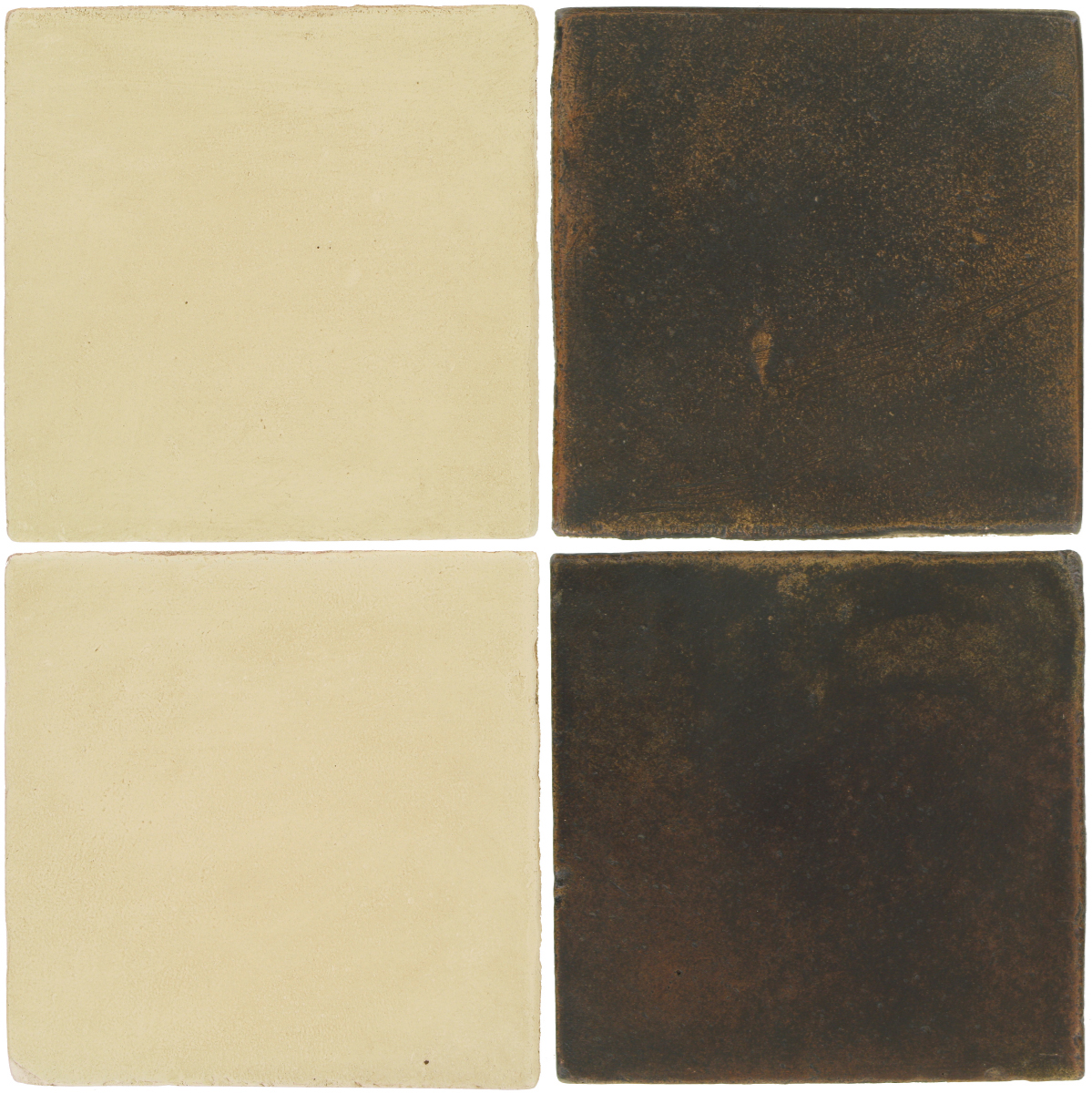 Pedralbes Antique Terracotta  2 Color Combinations  OHS-PGPW Pergamino White + OHS-PSCO Cologne Brown