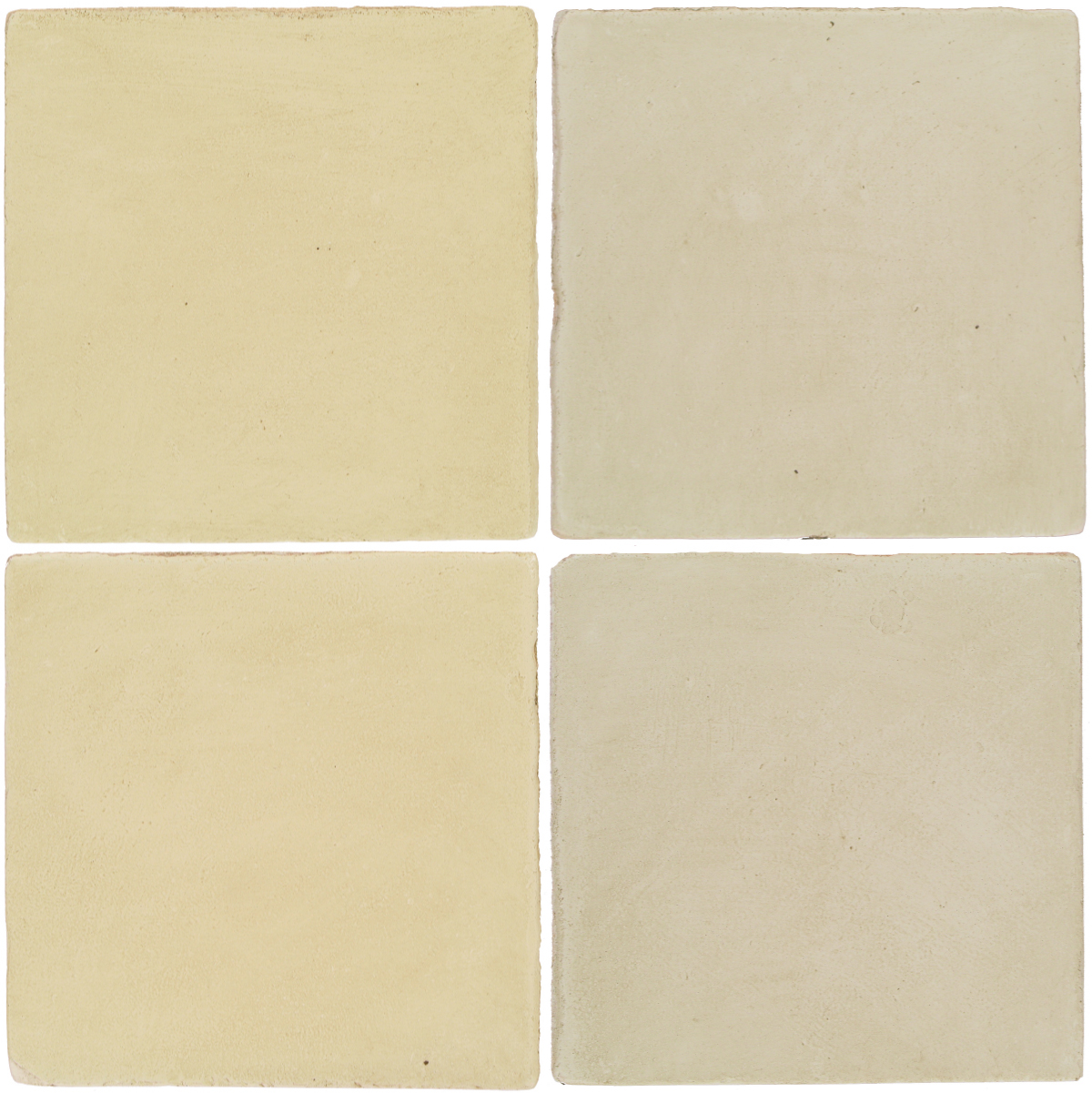 Pedralbes Antique Terracotta  2 Color Combinations  OHS-PGPW Pergamino White + OHS-PGLW Glacier White