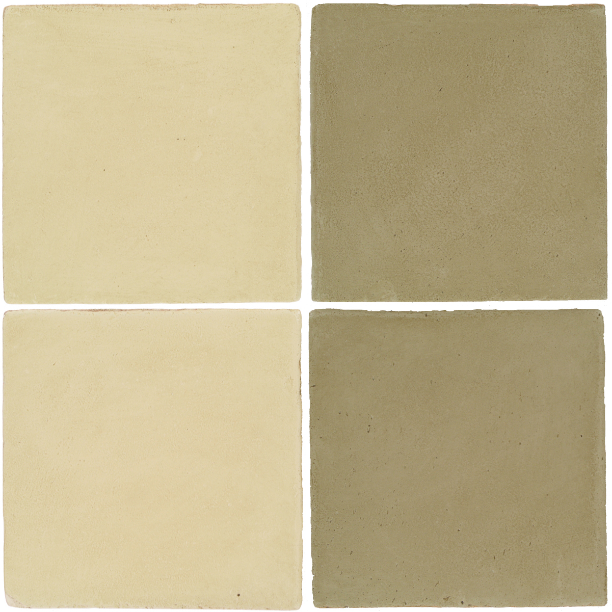 Pedralbes Antique Terracotta  2 Color Combinations  OHS-PGPW Pergamino White + OHS-PGDW Dirty W.