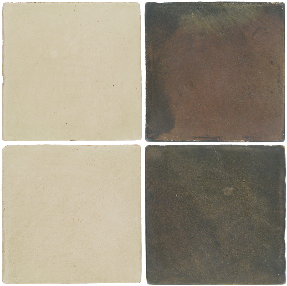 Pedralbes Antique Terracotta  2 Color Combinations  OHS-PGLW Glacier White + OHS-PSTG Terra Grey