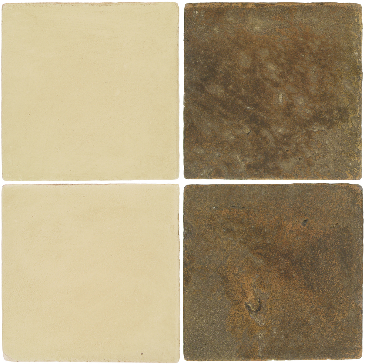 Pedralbes Antique Terracotta  2 Color Combinations  OHS-PGPW Pergamino White + VTG-PSVN Verona Brown