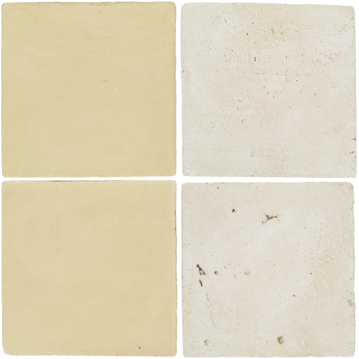 Pedralbes Antique Terracotta  2 Color Combinations  OHS-PGPW Pergamino White + VTG-PGAW Antique White