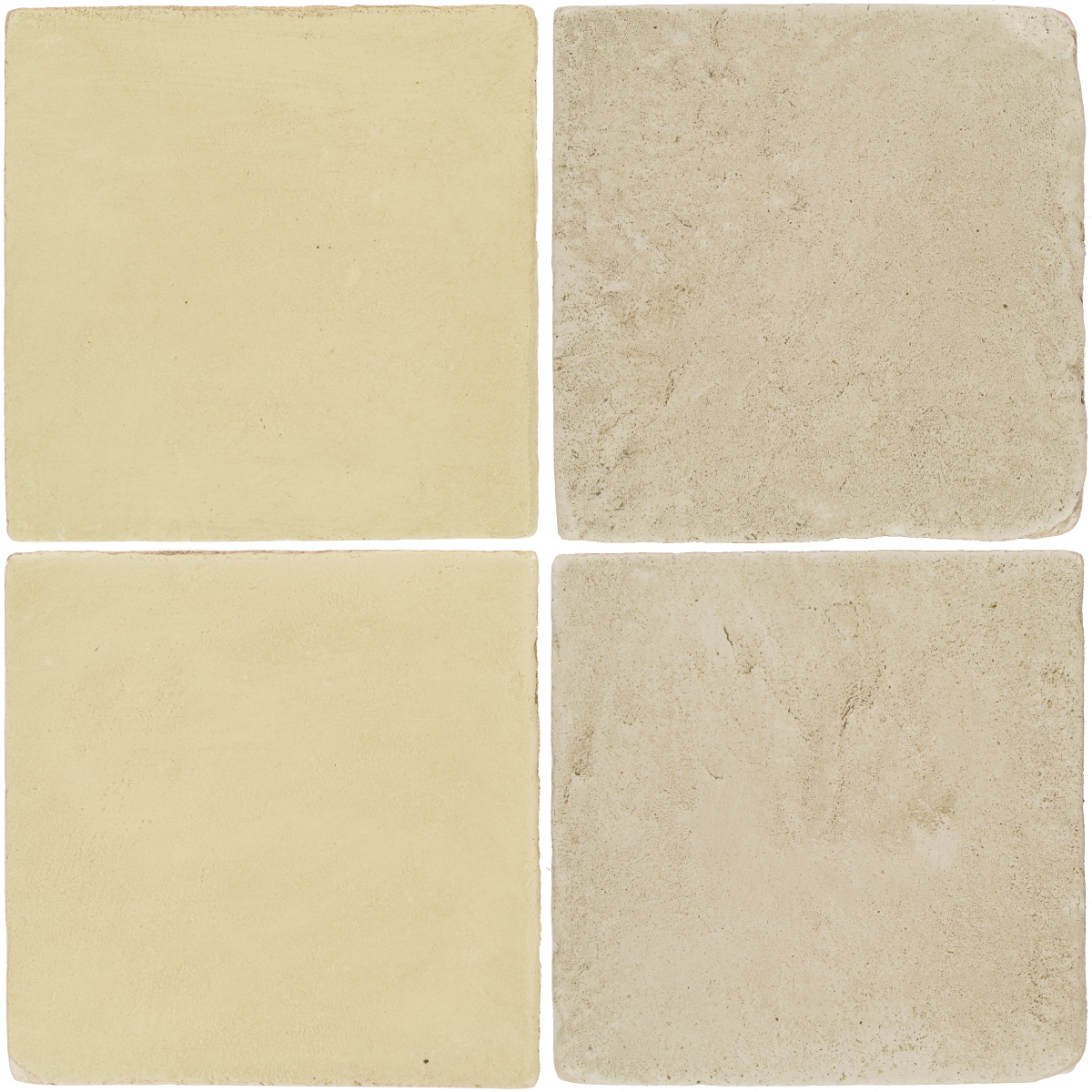 Pedralbes Antique Terracotta  2 Color Combinations  OHS-PGPW Pergamino White + VTG-PGLW Glacier White