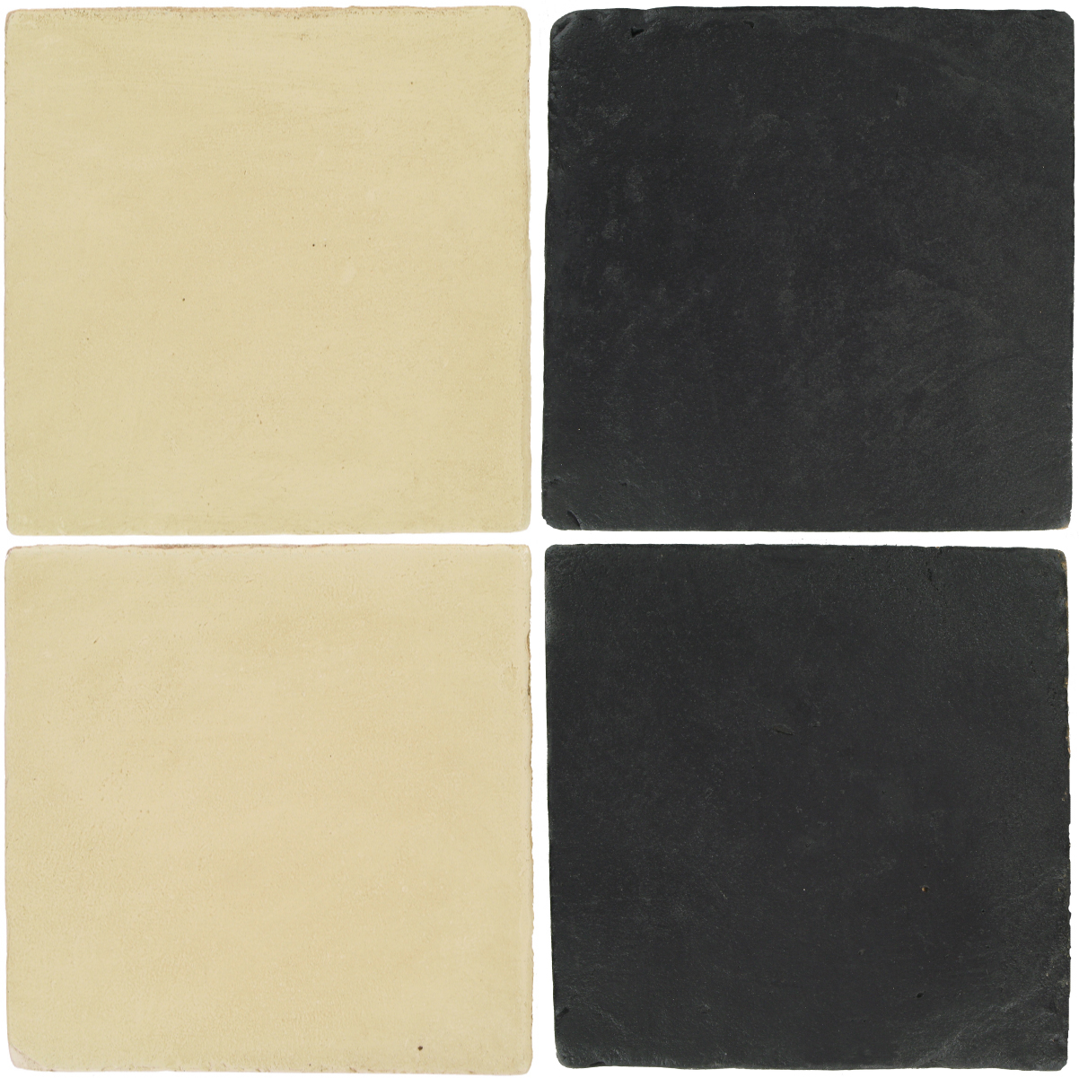 Pedralbes Antique Terracotta  2 Color Combinations  OHS-PGPW Pergamino White + VTG-PGCB Carbon Black