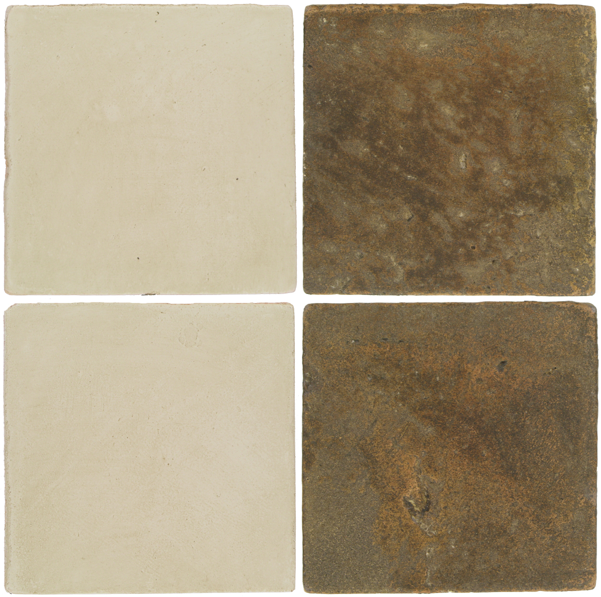 Pedralbes Antique Terracotta  2 Color Combinations  OHS-PGLW Glacier White + VTG-PSVN Verona Brown