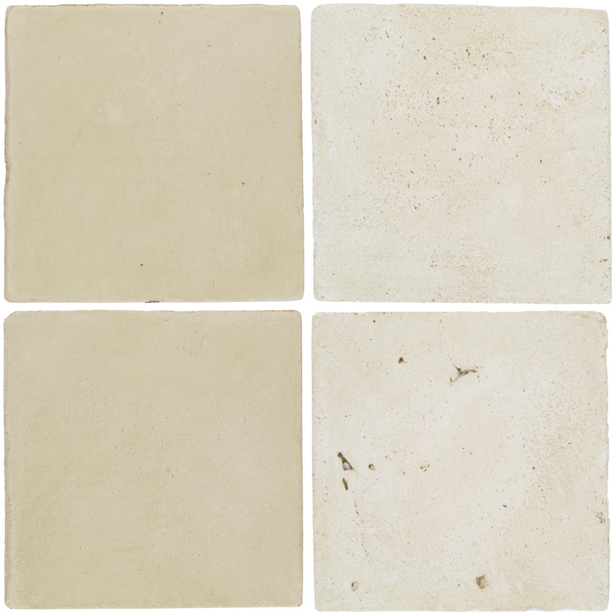 Pedralbes Antique Terracotta  2 Color Combinations  OHS-PGLW Glacier White + VTG-PGAW Antique White