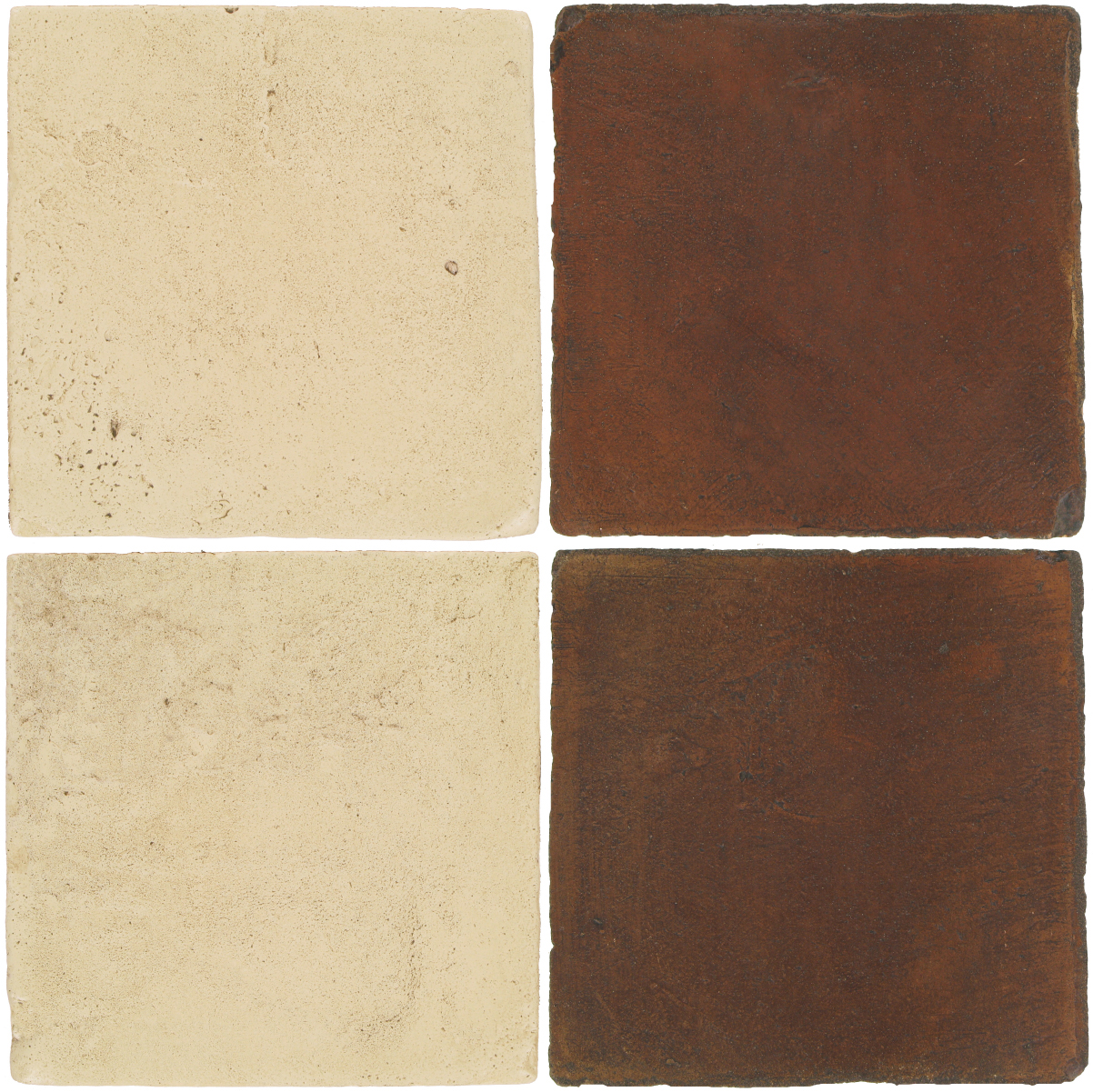 Pedralbes Antique Terracotta  2 Color Combinations  VTG-PGPW Pergamino White + OHS-PSOW Old World