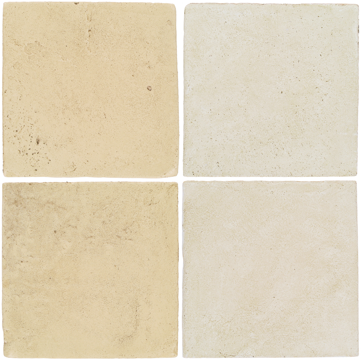 Pedralbes Antique Terracotta  2 Color Combinations  VTG-PGPW Pergamino White + OHS-PGAW Antique White