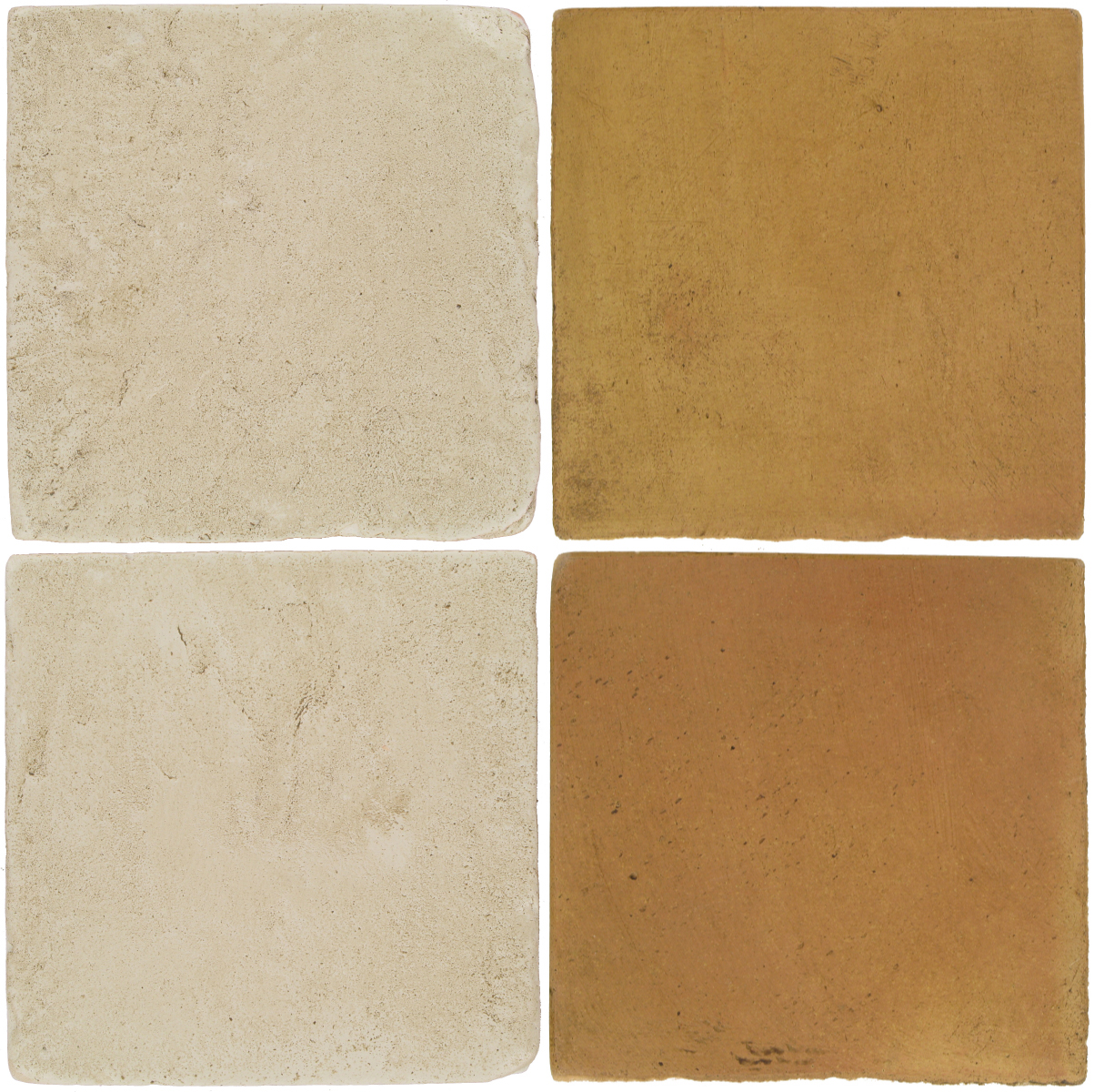 Pedralbes Antique Terracotta  2 Color Combinations  VTG-PGLW Glacier White + OHS-PSSW Siena Wheat