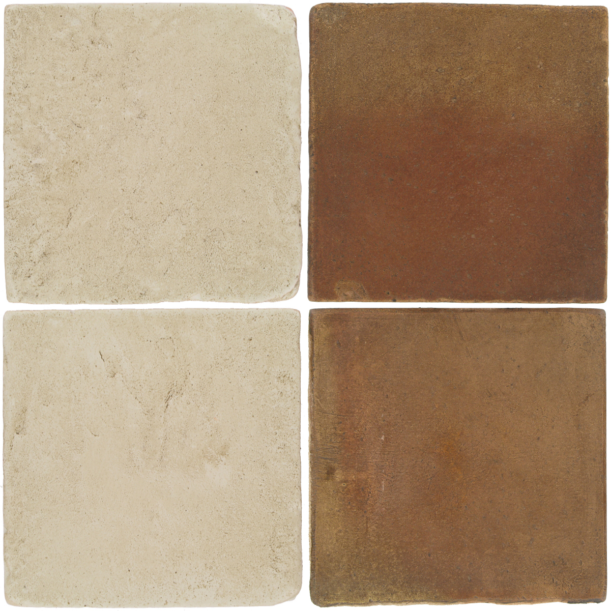 Pedralbes Antique Terracotta  2 Color Combinations  VTG-PGLW Glacier White + OHS-PSCM Camel Brown