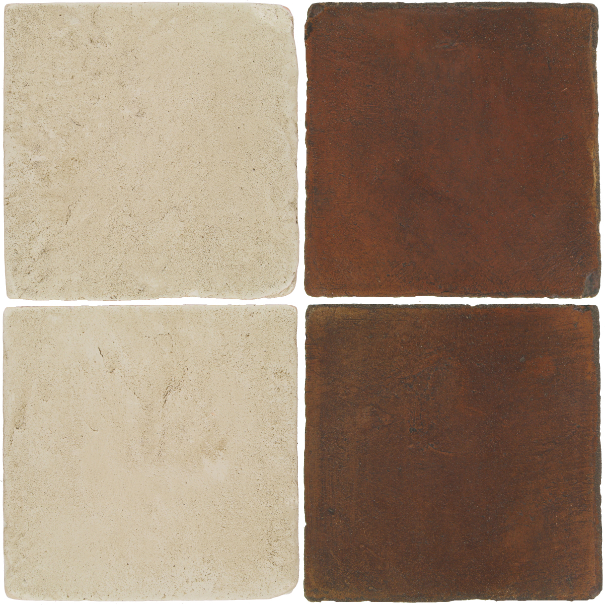 Pedralbes Antique Terracotta  2 Color Combinations  VTG-PGLW Glacier White + OHS-PSOW Old World