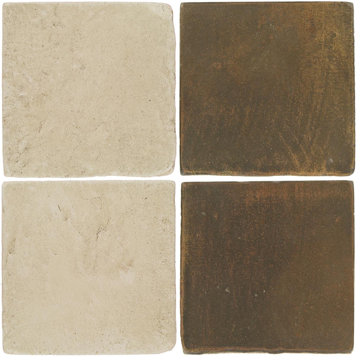 Pedralbes Antique Terracotta  2 Color Combinations  VTG-PGLW Glacier White + OHS-PSVN Verona Brown