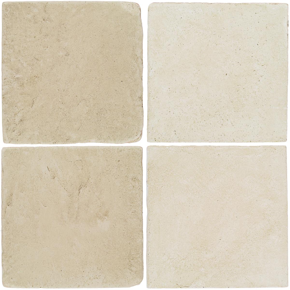 Pedralbes Antique Terracotta  2 Color Combinations  VTG-PGLW Glacier White + OHS-PGAW Antique White