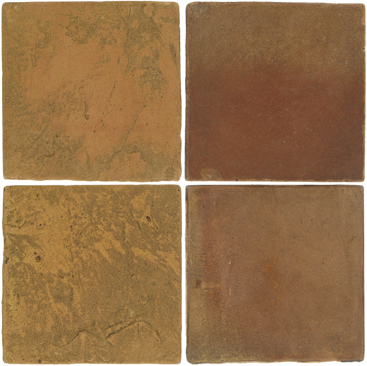 Pedralbes Antique Terracotta  2 Color Combinations  VTG-PSSW Siena Wheat + OHS-PSCM Camel Brown