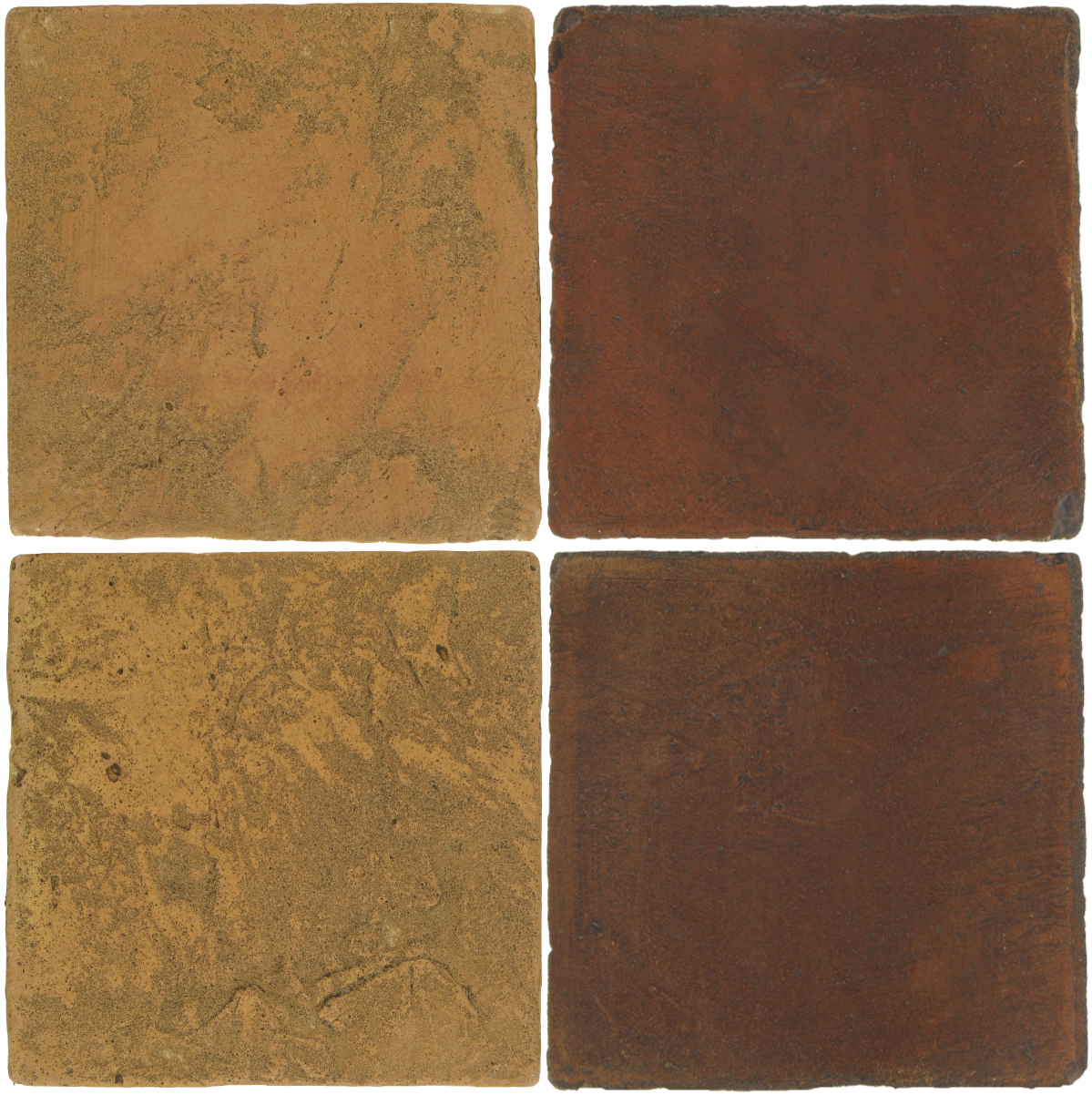Pedralbes Antique Terracotta  2 Color Combinations  VTG-PSSW Siena Wheat + OHS-PSOW Old World