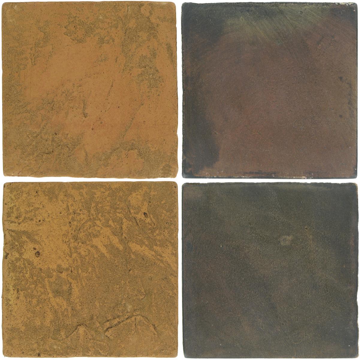 Pedralbes Antique Terracotta  2 Color Combinations  VTG-PSSW Siena Wheat + OHS-PSTG Terra Grey