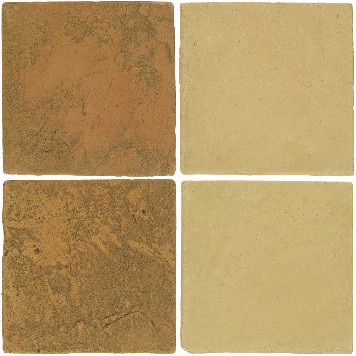 Pedralbes Antique Terracotta  2 Color Combinations  VTG-PSSW Siena Wheat + OHS-PGGW Golden W.