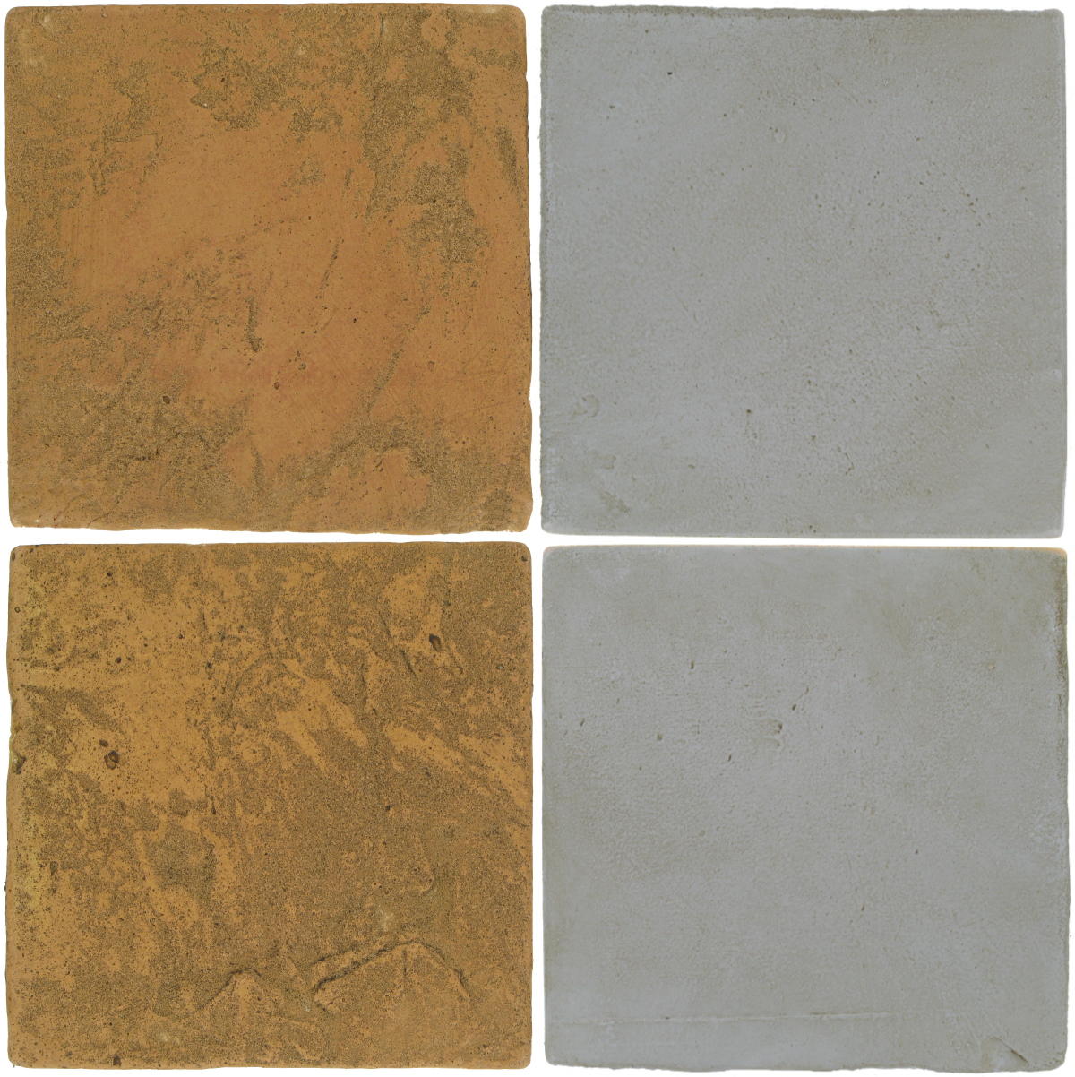 Pedralbes Antique Terracotta  2 Color Combinations  VTG-PSSW Siena Wheat + OHS-PGOG Oyster Grey