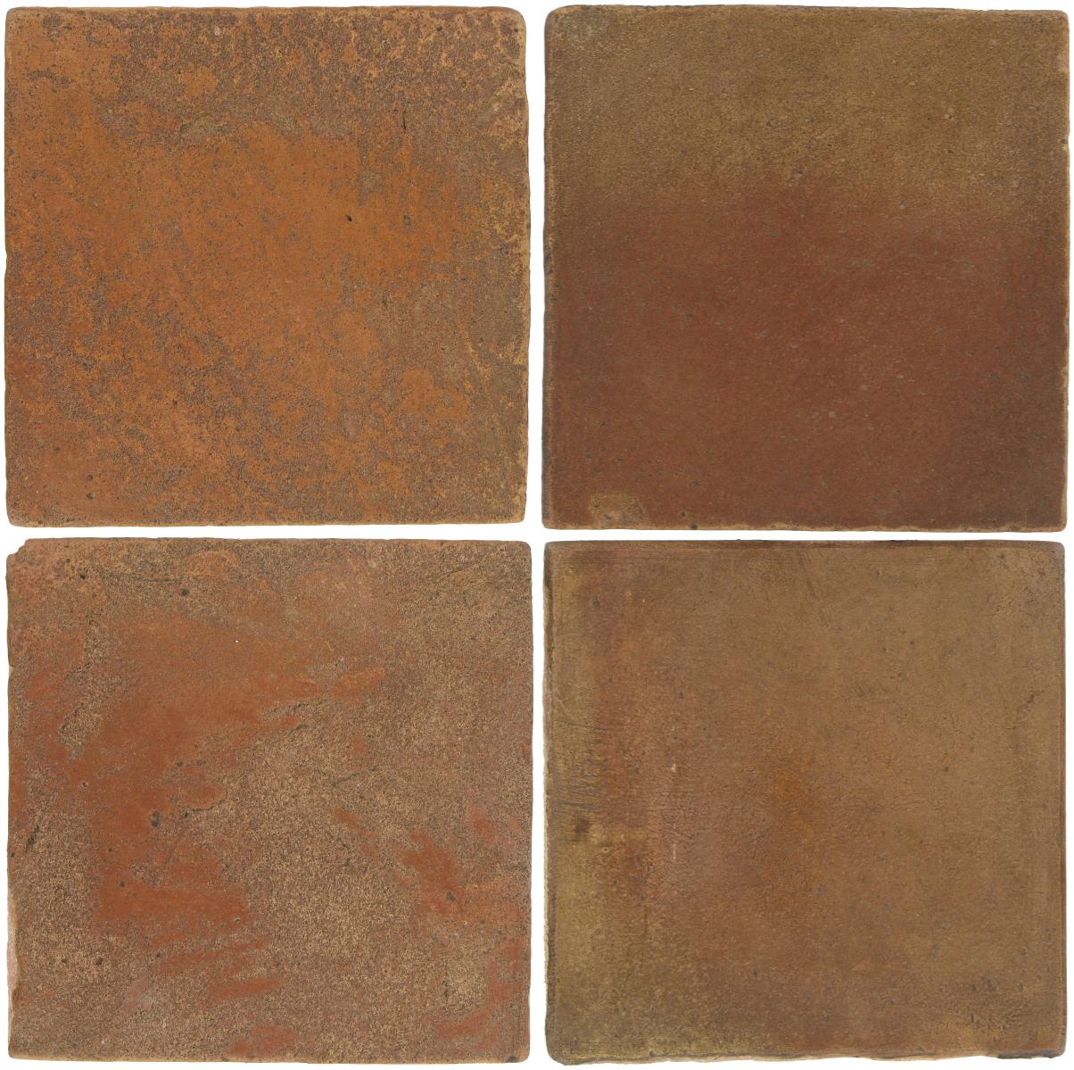Pedralbes Antique Terracotta  2 Color Combinations  VTG-PSTR Traditional + OHS-PSCM Camel Brown