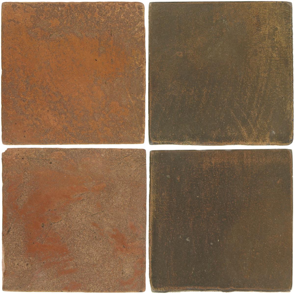 Pedralbes Antique Terracotta  2 Color Combinations  VTG-PSTR Traditional + OHS-PSVN Verona Brown