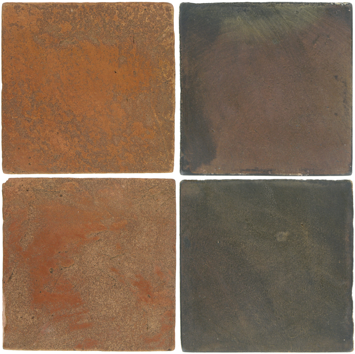 Pedralbes Antique Terracotta  2 Color Combinations  VTG-PSTR Traditional + OHS-PSTG Terra Grey