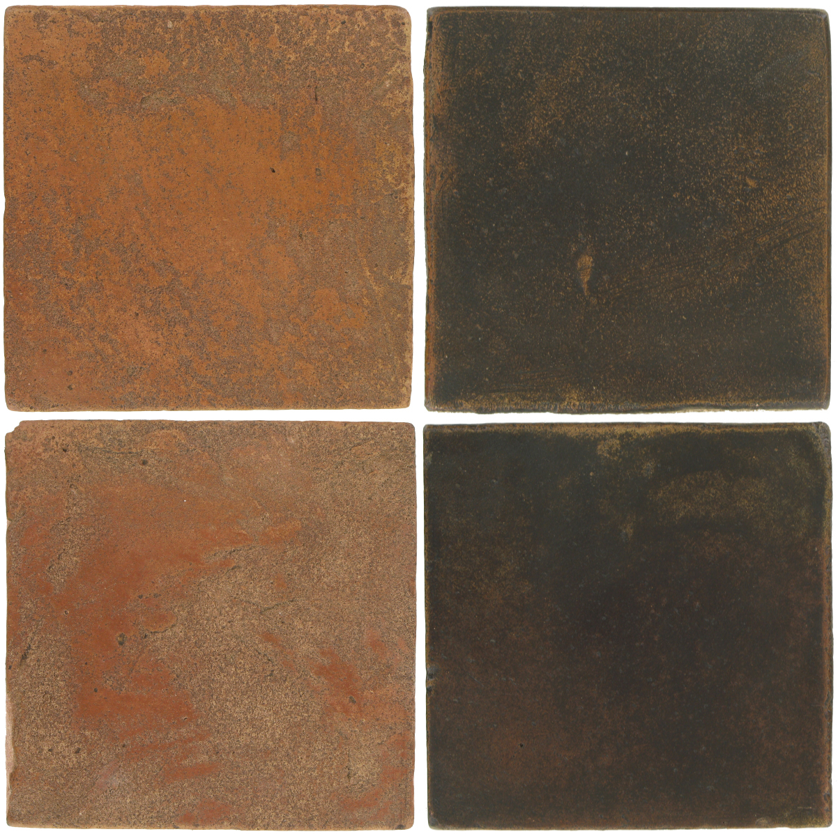 Pedralbes Antique Terracotta  2 Color Combinations  VTG-PSTR Traditional + OHS-PSCO Cologne Brown