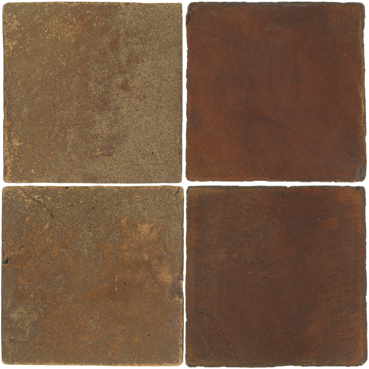 Pedralbes Antique Terracotta  2 Color Combinations  VTG-PSCM Camel Brown + OHS-PSOW Old World