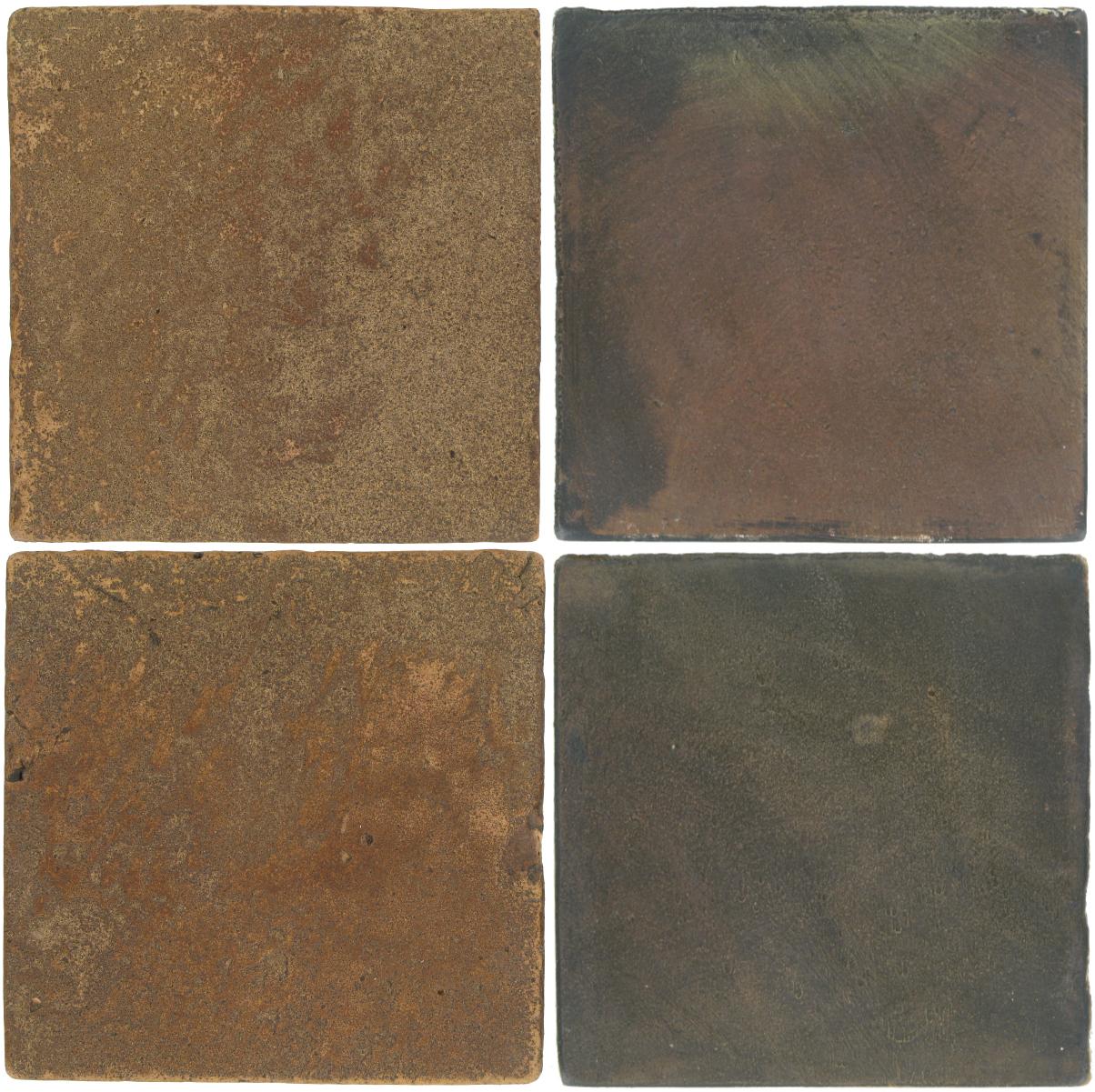 Pedralbes Antique Terracotta  2 Color Combinations  VTG-PSCM Camel Brown + OHS-PSTG Terra Grey