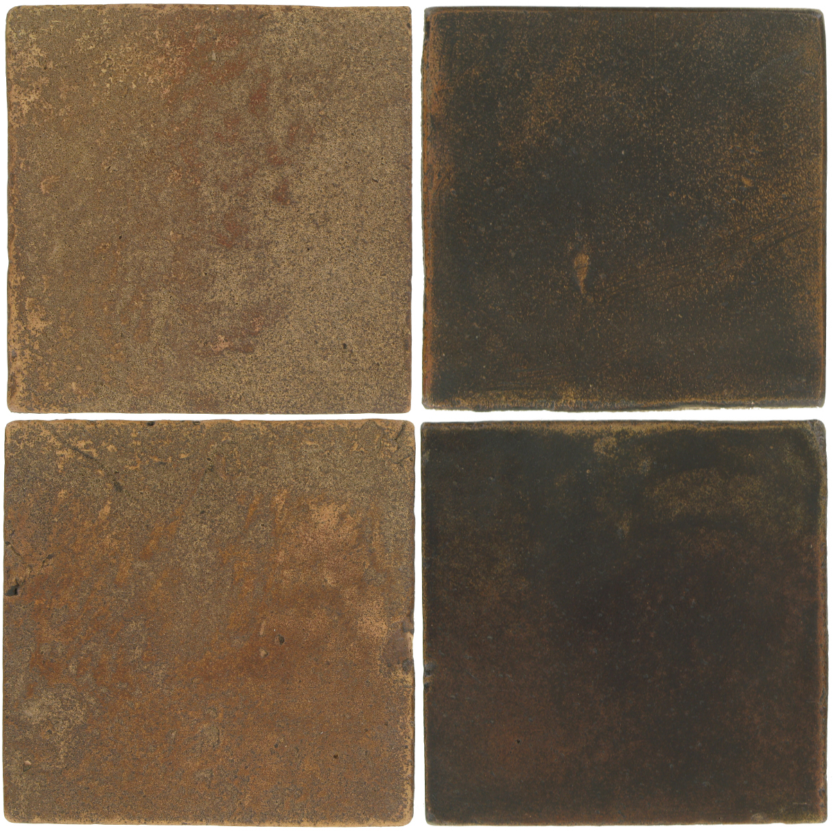 Pedralbes Antique Terracotta  2 Color Combinations  VTG-PSCM Camel Brown + OHS-PSCO Cologne Brown