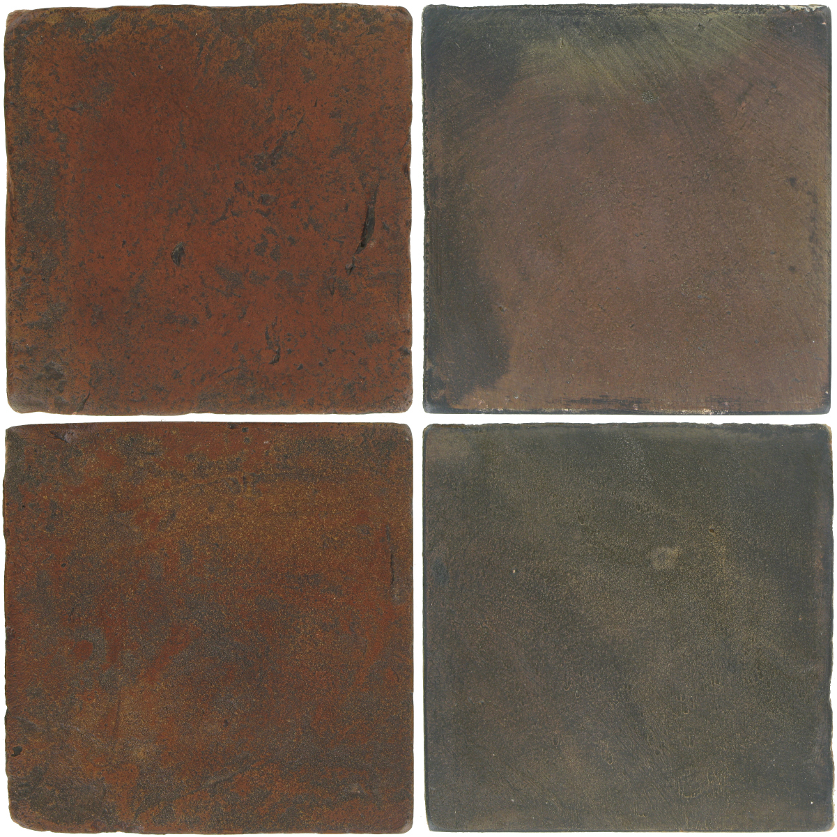 Pedralbes Antique Terracotta  2 Color Combinations  VTG-PSOW Old World + OHS-PSTG Terra Grey