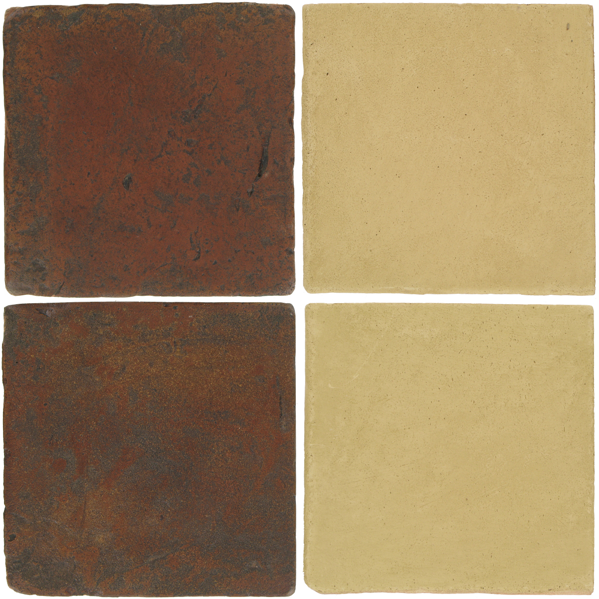 Pedralbes Antique Terracotta  2 Color Combinations  VTG-PSOW Old World + OHS-PGGW Golden W.