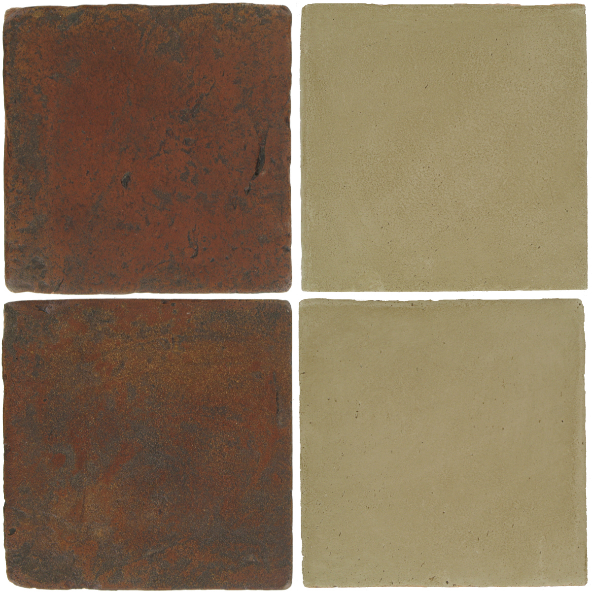 Pedralbes Antique Terracotta  2 Color Combinations  VTG-PSOW Old World + OHS-PGDW Dirty W.