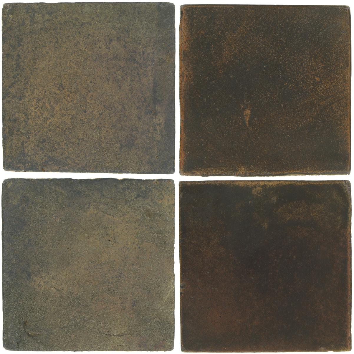 Pedralbes Antique Terracotta  2 Color Combinations  VTG-PSTG Terra Grey + OHS-PSCO Cologne Brown