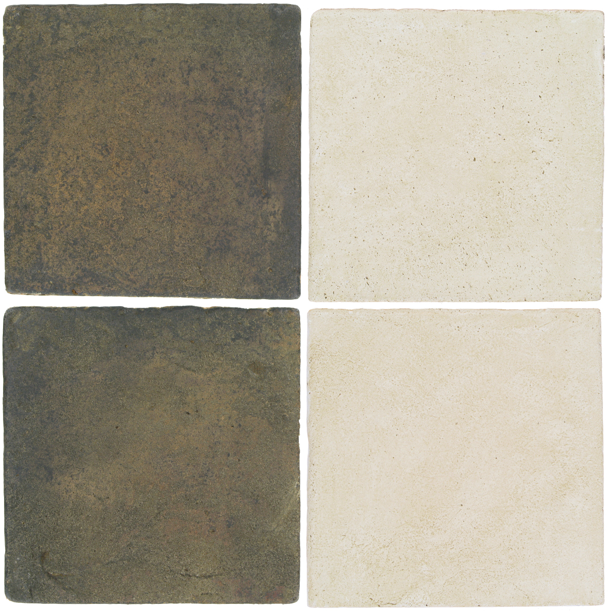 Pedralbes Antique Terracotta  2 Color Combinations  VTG-PSTG Terra Grey + OHS-PGAW Antique White
