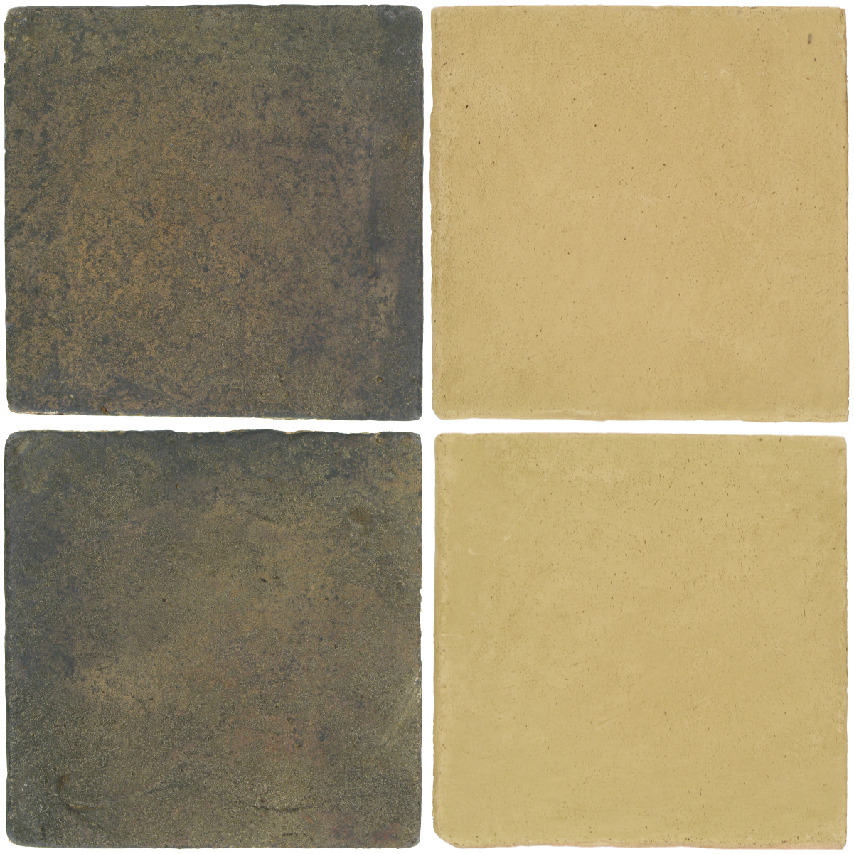Pedralbes Antique Terracotta  2 Color Combinations  VTG-PSTG Terra Grey + OHS-PGGW Golden W.