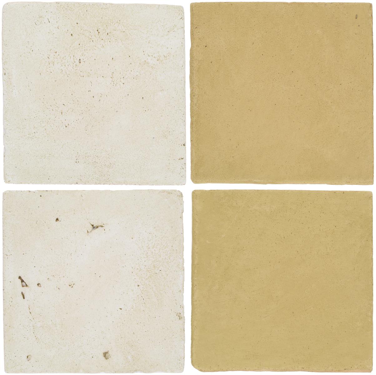 Pedralbes Antique Terracotta  2 Color Combinations  VTG-PGAW Antique White + OHS-PGGW Golden W.