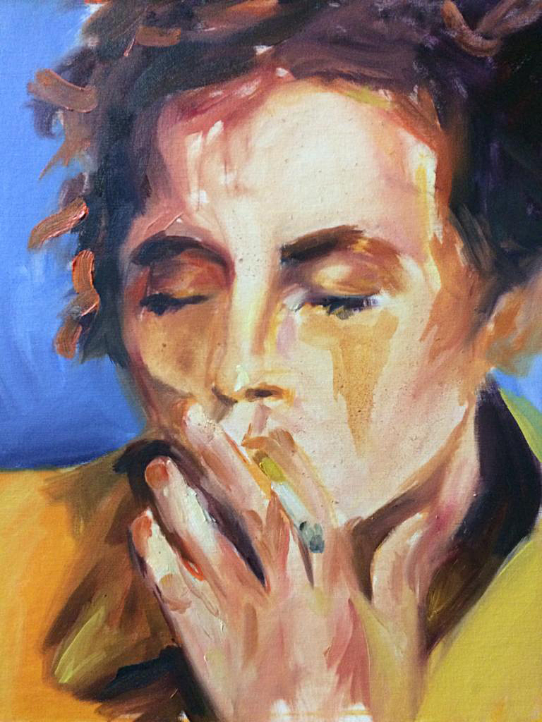 N., 2019. Oil on canvas.