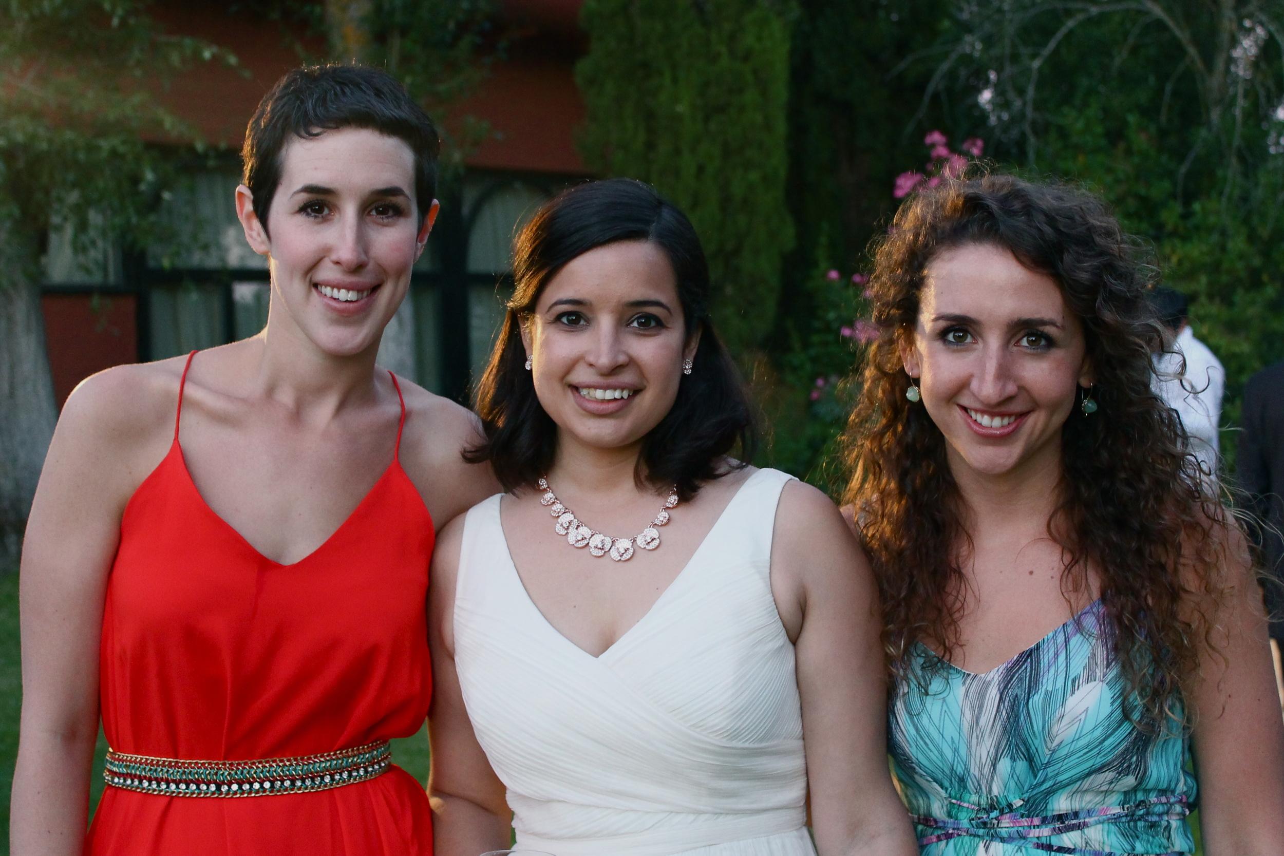 Jess, Anna and I