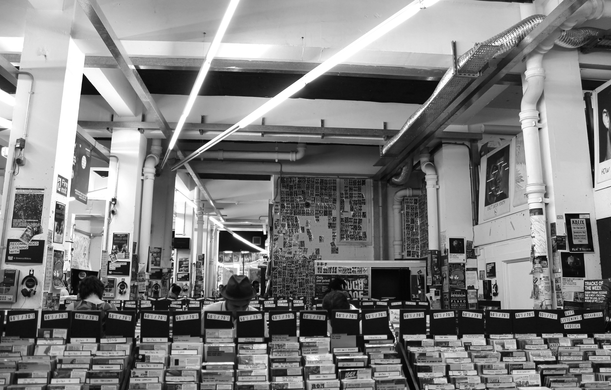Rough Trade on Brick Lane
