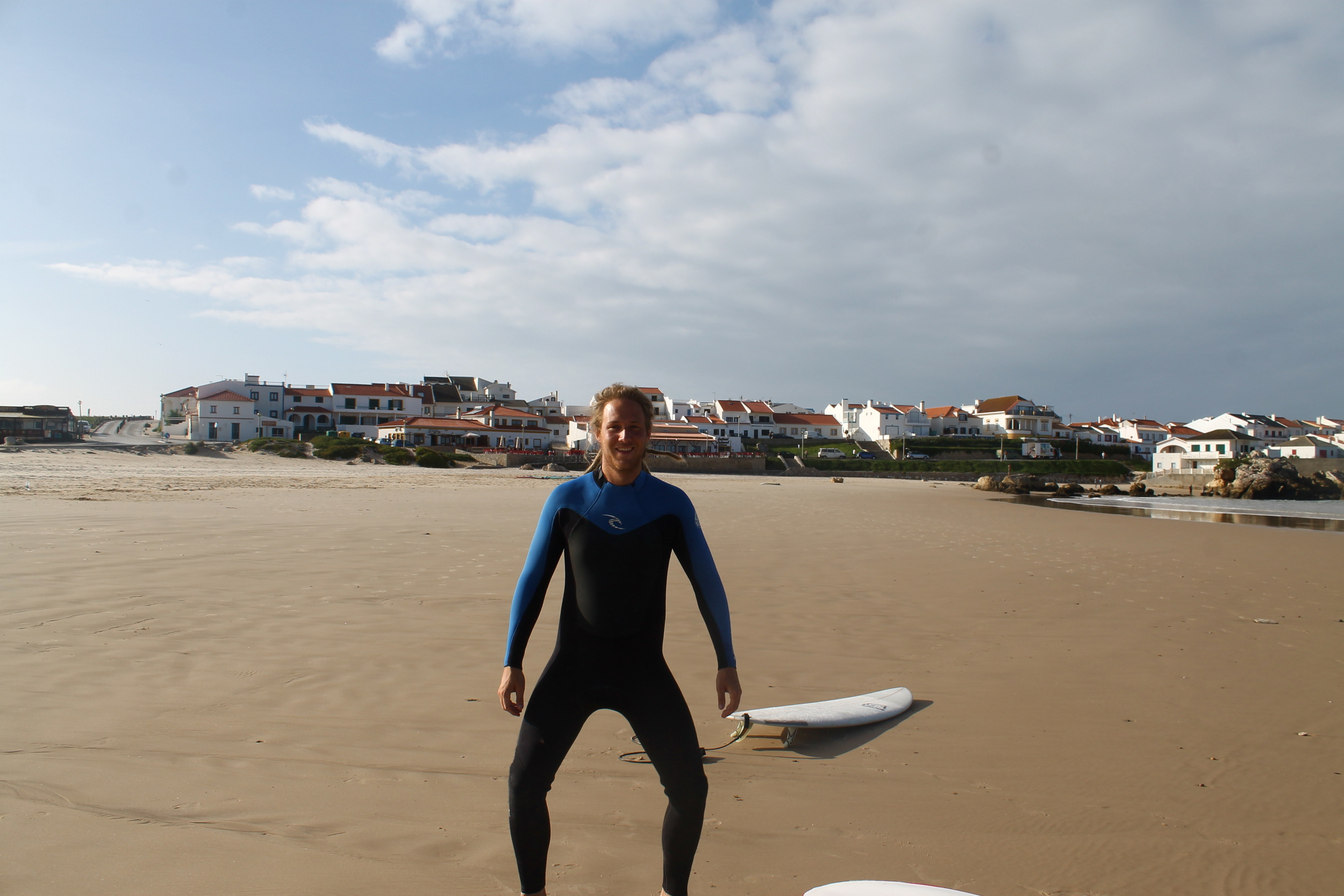 Danielthe Swede, whose love of surfing is only rivaled by his love of desserts.